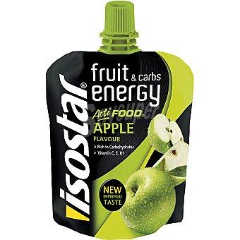 ISOSTAR Fruit & Carbs Energy Acti Food Gel suplemento energético sabor manzana  envase 90 g
