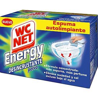 WC Net Desinfectante WC en polvo espuma autolimpiante Energy Caja 4 unidades