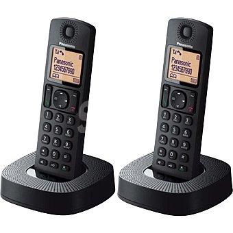 PANASONIC KX-TGC312SPB Teléfono Inalámbrico dúo Dect en color negro
