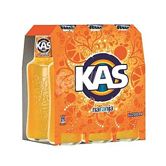 Kas Refresco de naranja Pack 6x20 cl