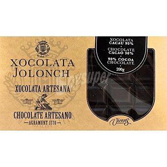 Jolonch Chocolate 90% cacao artesano Tableta 200 g
