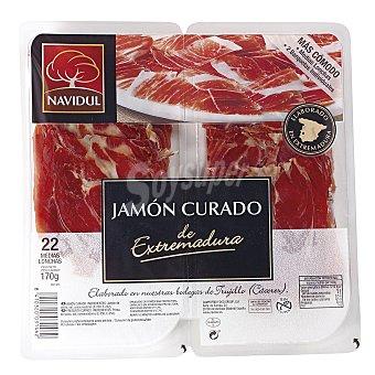 Navidul Jamón Serrano de Navidul 2 envases de 85 g