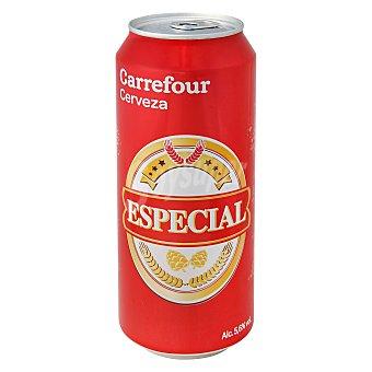 Carrefour Cerveza especial Lata 50 cl