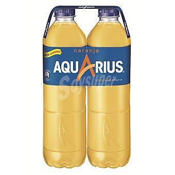 Aquarius Bebida isotónica naranja Pack 2 botella 1.5 l