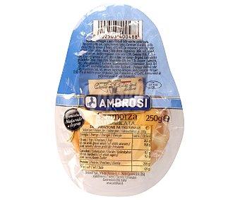 AMBROSI Queso Scamorza Ahumado 250 Gramos