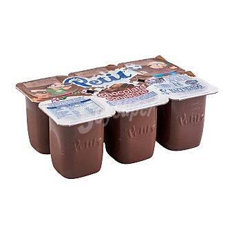 Hacendado Petit chocolate Pack 6 u x 60 g - 360 g