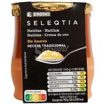 Eroski Seleqtia Natillas de huevo Eroski 140 g