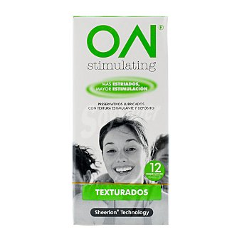 ON Preservativo estimulante (finos) Paquete 12 u