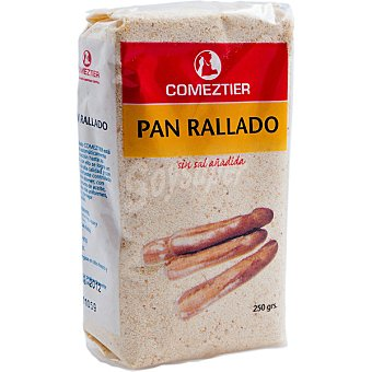 Comeztier Pan rallado Paquete 250 g
