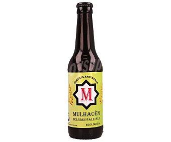 MULHACÉN Cerveza artesana ecológica 33 centilitros