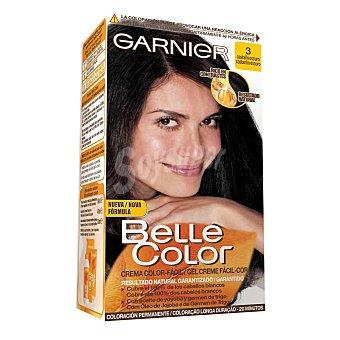 Belle Color Garnier Gel Color Fácil Castaño Oscuro Nº 3 1 unidad