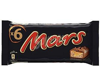 Mars Barritas de chocolate con caramelo 270 Gramos