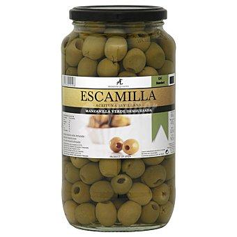 Escamilla Aceitunas verdes manzanilla sin hueso 455 G 455 g