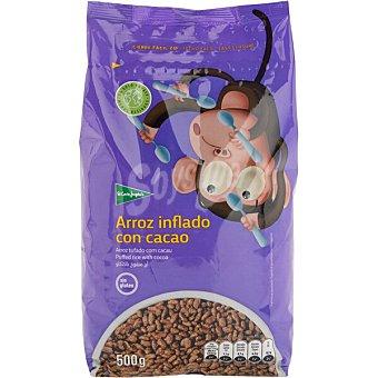 El Corte Inglés cereales de arroz con cacao paquete 500 g