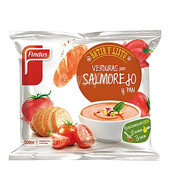 Findus Verduras para salmorejo y pan 500 g