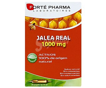 Forte Pharma Jalea Real 20 Ampollas