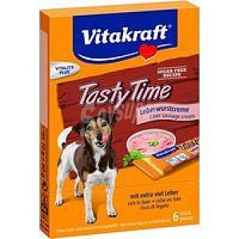 Vitakraft Tasty Time crema de paté para perros Caja 60 g