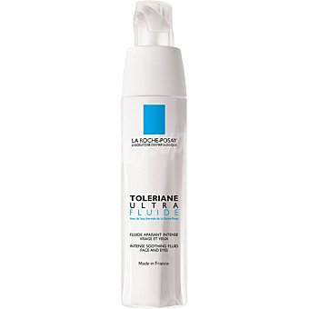 La Roche-Posay Toleriane ultra fluido alivia e hidrata la piel ultra-sensible y alergica Dosificador 40 ml