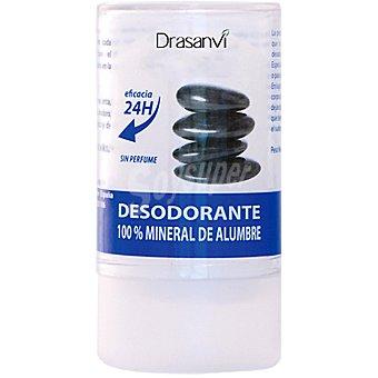 DRASANVI Desodorante 100% mineral de alumbre sin perfume Envase 100 g