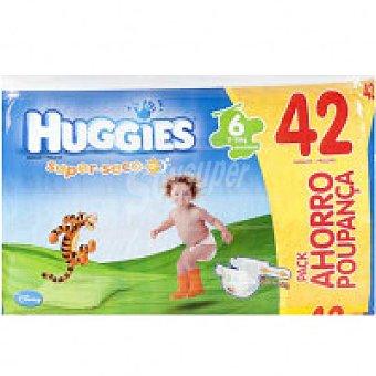 Huggies Pañal Talla 6 Paquete 42 unid