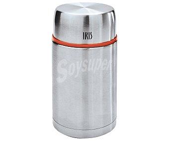 Iris Termo de acero inoxidable para sólidos, 1 litro, IRIS. 1 litro