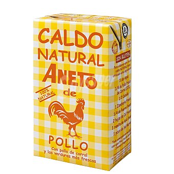 Aneto Caldo Natural de Pollo brick 1,04LT