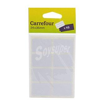 Carrefour Etiquetas 24x35 mm 48 ud