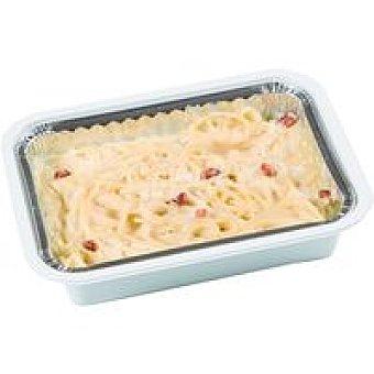 ARTESANOS Espaguettis a la carbonara Bandeja 350 g