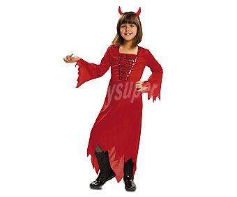 MY OTHER ME Disfraz infantil Demonia Roja, talla M, de 5 a 6 años 1 unidad