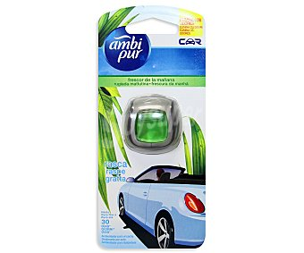 AMBIPUR CAR Ambientador de coche para rejilla de ventilación con a olor a frescor de la mañana 1 unidad