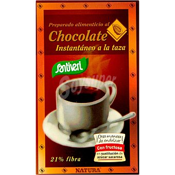 Santiveri Chocolate instantáneo a la taza sin azúcar Envase 250 g