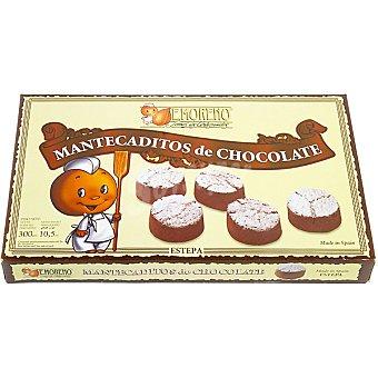 E.moreno Mantecaditos de chocolate Estuche 300 g