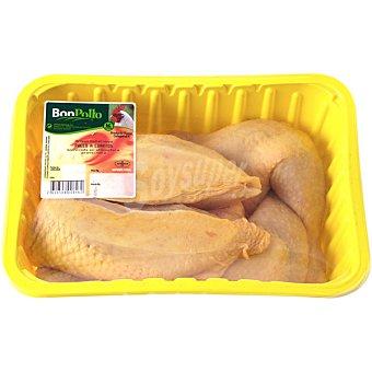 BONPOLLO Pollo en cuartos bandeja 1,5 kg peso aproximado 5 kg