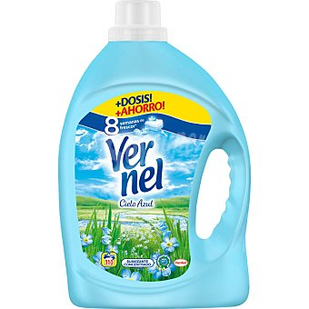 Vernel Suavizante concentrado Cielo Azul Botella 110 dosis
