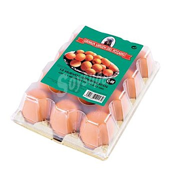VIRGEN DEL ROSARIO Huevos L 12 ud