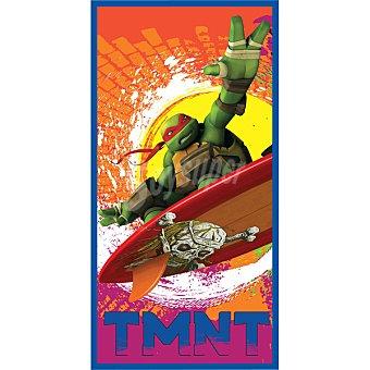 VIACOM Toalla de playa infantil con dibujo de tortuga Ninja 1 Unidad