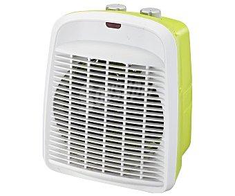Selecline Termoventilador vertical FH205-S, potencia max: 2000W, 2 niveles de calor, termostato, apto para baño potencia max: 2000W, 2 niveles de calor, termostato, apto para baño