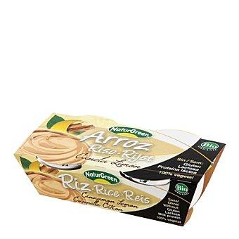 Naturgreen Arroz canela limon - Sin Gluten Pack de 2x125 g