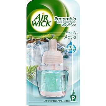 Air Wick Ambientador eléctrico Fresh Aqua recambio