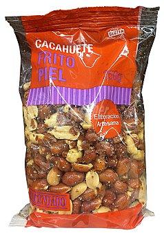 HACENDADO Cacahuete frito con piel Paquete de 250 g