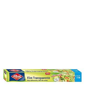 Albal Film transparente muy adherente y fácil de cortar Rollo 30 metros