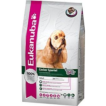 EUKANUBA COCKER SPANIEL Alimento especial para perros adultos para perros de raza cocker spaniel y americano Bolsa 7,5 kg