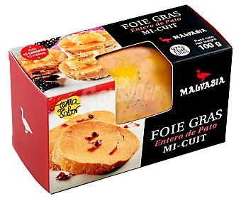 Malvasia Foie gras entero de pato Mi-cuit 100 g