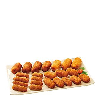 Carrefour Croquetas caseras de jamón 400 g