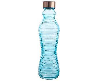 ARC Botella de vidrio azul turquesa con tapón de rosca, ARC 0,5 litros