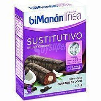 Bimanan Linea Batonnet de coco Caja 186 g