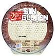 Base pizza congelada sin gluten Paquete 2 u 400 gr Hacendado