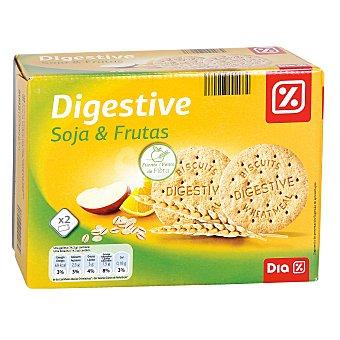 DIA Galleta digestive soja fruta Caja 800 grs