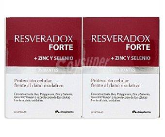 RESVERADOX Forte Complemento alimenticio Pack 2 Unidades de 30 C