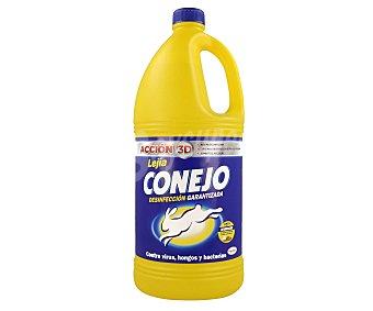 Conejo Lejía amarilla Botella 2 l